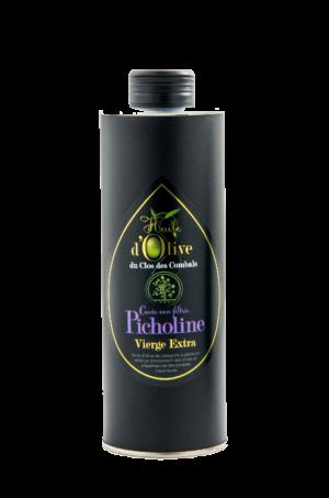 huile olive vierge extra picholine non filtrée