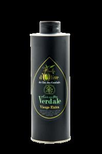 huile d'olive du domaine extra vierge en verdale cuvée non filtrée